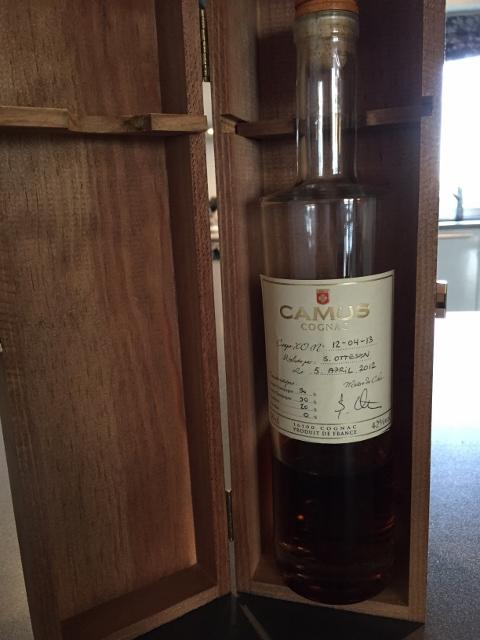 tredje mest solgte cognac